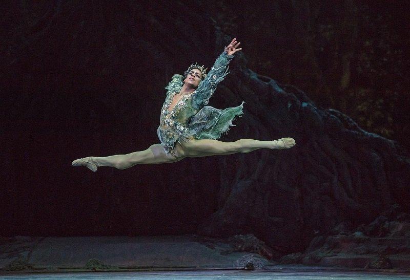 The Dream. Marcelino Sambe as Oberon. by Tristram Kenton
